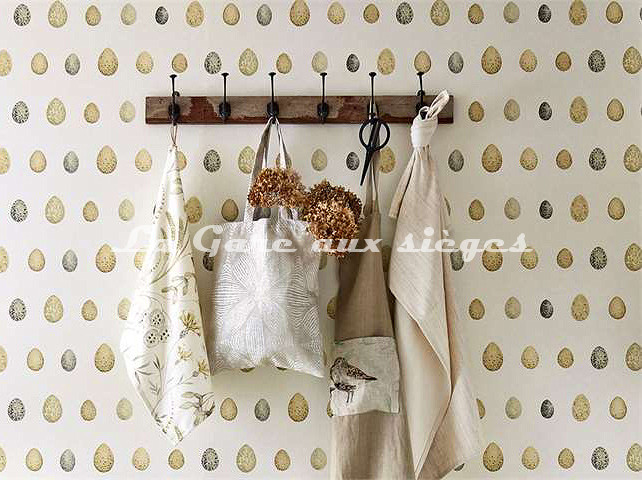 Papier peint Sanderson - Collection Nest Egg - Voir en grand