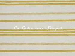 Tissu Lelièvre - Marina - réf: 573.02 Pastis - Voir en grand