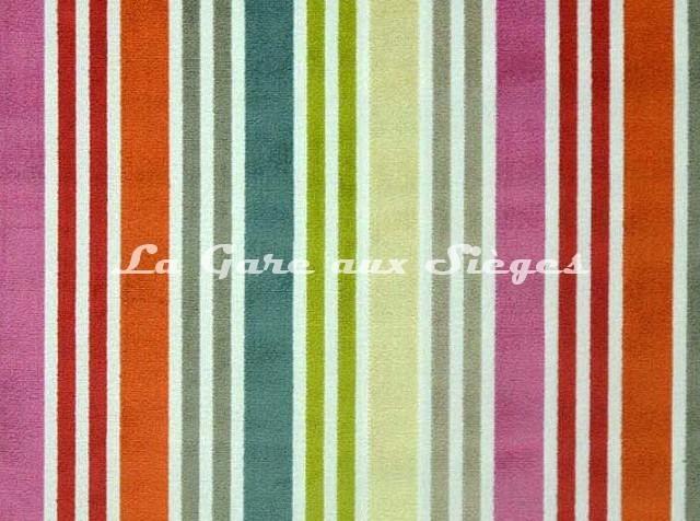 Tissu Casal - Arc en ciel - réf: 12699.100 Multicolore - Voir en grand