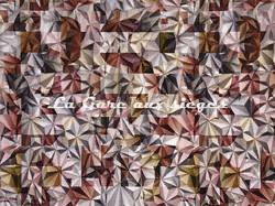 Tissu Casal - Kaleidoscope - réf: 12844.8042 Grenat Or - Voir en grand