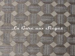 Tissu Casal - Jongleur - réf: 16187 - Coloris: 6377 Chrome Grège - Voir en grand