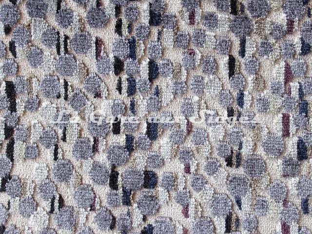 Tissu Deschemaker - Soledad - réf: 103985 Ardoise - Voir en grand