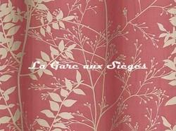 Tissu Harlequin - Persephone - réf: 130252 Flame/Pebble ( détail ) - Voir en grand