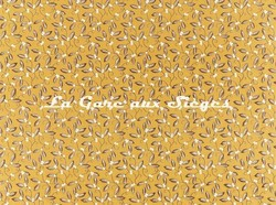 Tissu William Morris - Mistletoe Embroidery - réf: 236817 Saffron - Voir en grand