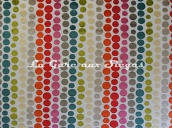 Tissu Casal - Confettis - réf: 12670 - Coloris: 100 Multicolore - Voir en grand