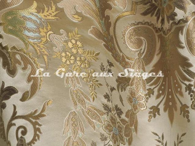 Tissu Tassinari & Châtel - Brocart Verdi - réf: 1684.01 - Voir en grand