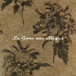 Papier peint Zoffany - Evelyne - réf: 312733 Antique/Gold Olivine