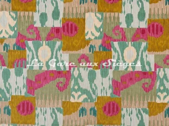 Tissu Pierre Frey - Bella Coola - réf: F3226.002 Acid Lime - Voir en grand