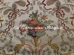 Tissu Tassinari & Châtel - Liancourt - réf: 1672.01 Ivoire - Voir en grand