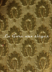 Tissu Chanée Ducrocq - Velours gaufré Suffren - Coloris: 379 Laurier - Voir en grand