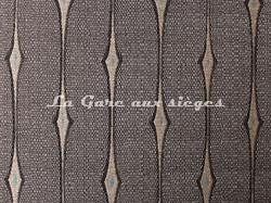 Tissu Deschemaker - Fantasia - réf: 103964 Ardoise - Voir en grand