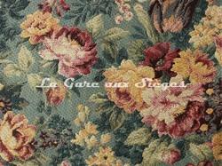 Tissu Chanée Ducrocq - Newcastel - réf: 8529 Bleu - Voir en grand