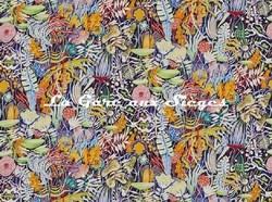 Tissu Pierre Frey - Salvador - réf: F3088.001 Multicolore - Voir en grand