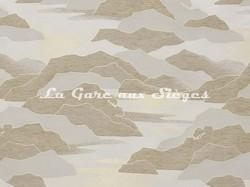 Tissu Lelièvre - Calanques - réf: 4238.02 Sable - Voir en grand