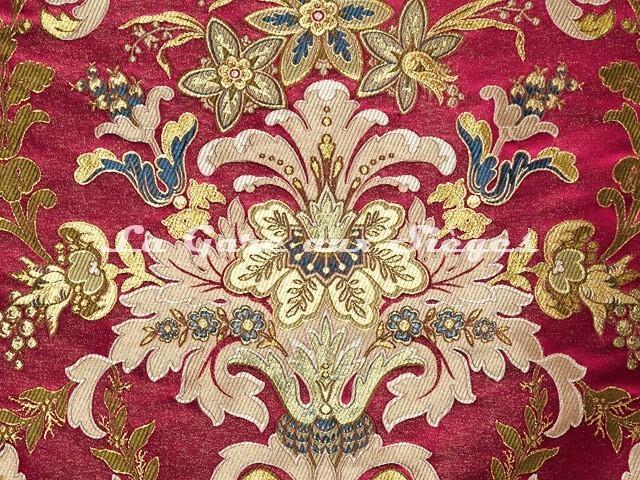 Tissu Tassinari & Châtel - Verdi - réf: 1683.04 Rubis - Voir en grand