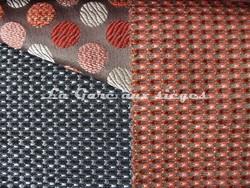 Tissu Deschemaker - Malibu - réf: 103808 Jais & 103806 Tomette - Voir en grand