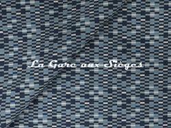 Tissu Jim Thompson - Tetris - réf: J2253/003 Maritime - Voir en grand