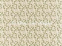 Tissu William Morris - Mistletoe Embroidery - réf: 236816 Artichoke - Voir en grand
