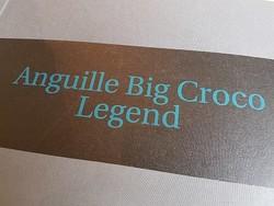 Papiers peints Elitis - Big Croco - Anguille - Galuchat - Voir en grand