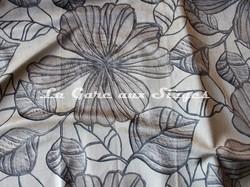 Tissu Deschemaker - Velours Ipomea - réf: 3113 Lin - Voir en grand