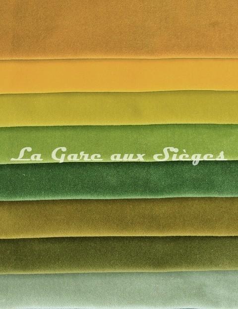 Tissu Pierre Frey - Velours Fine - réf: F3210 - Coloris: 009-010-011-012-013-014-015-016 - Voir en grand