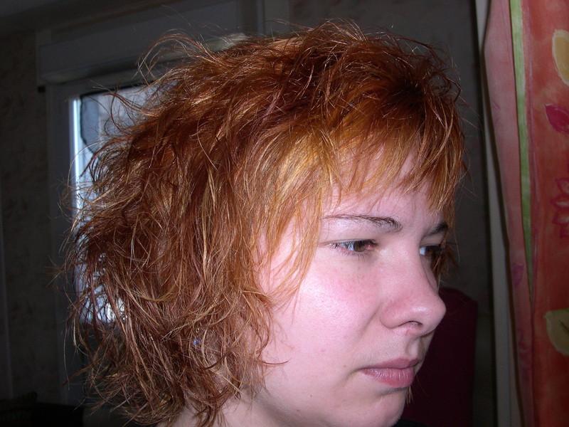 Meches+Couleur+Coupe+Bushing cheveux long chez l'oxy coup' coiffeuse à domicile - Voir en grand