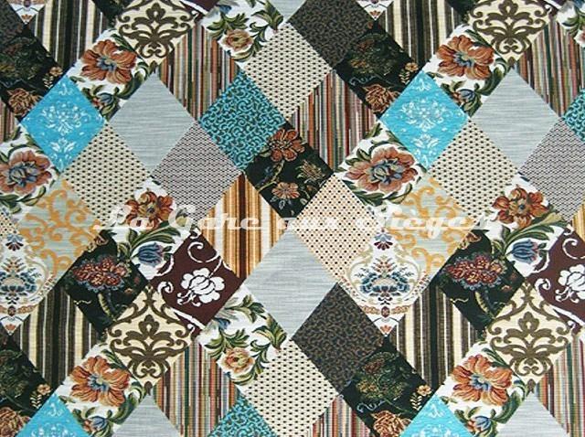 Tissu Casal - Ruy Blas - réf: 16171 - Coloris: 001 Multicolore - Voir en grand