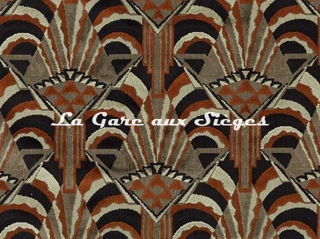 Tissu Zoffany - Conway - réf: 332959 Sahara ( détail ) - Voir en grand