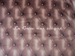 Tissu Deschemaker - Velours Capiton 3108 Faon - Voir en grand