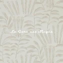 Papier peint Zoffany - Highclere - réf: 312860 Zinc - Voir en grand