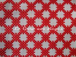 Tissu Boussac - Idaho - Réf: O7790 - Coloris: 06 Pavot - Voir en grand