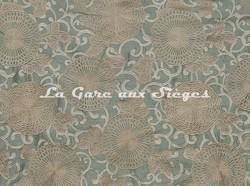 Tissu Pierre Frey - Tournelle - réf: F2739-002 Jade - Voir en grand