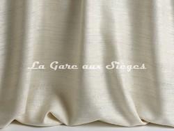 Tissu Pierre Frey - Taffetas Jeanne - réf: F3273-001 Crème - Voir en grand