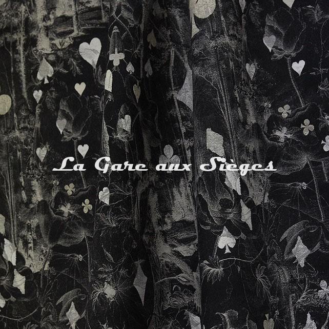 Tissu Jean Paul Gaultier - Tarot - réf: 3489.03 Noir - Voir en grand