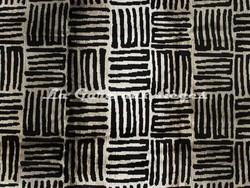 Tissu Deschemaker - Zanzibar - réf: 103940 - Coloris: Ebène - Voir en grand