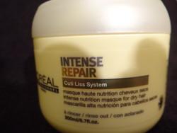 masque intense repair - masque haute nutrition pour cheveux secs - EMMANUELLE COIFFURE - Voir en grand