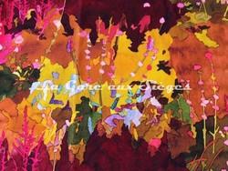 Tissu Pierre Frey - Velours Utopia - réf: F2983-001 Multicolore - Voir en grand