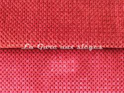 Tissu Chanée Ducrocq - Caviar - Coloris: 2472 Brique - 2471 Piment - Voir en grand