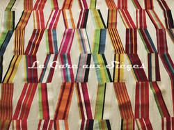 Tissu Pierre Frey - Carriacou - réf: F2954-001 Multicolore - Voir en grand