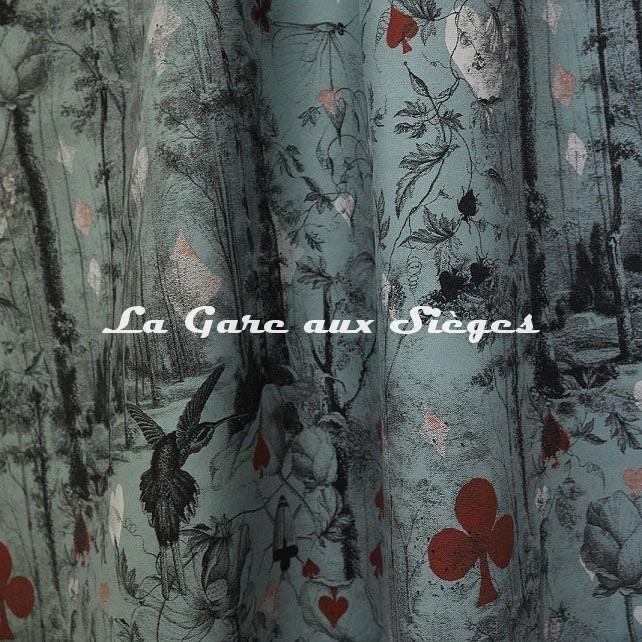 Tissu Jean Paul Gaultier - Tarot - réf: 3489.02 ( suite ) - Voir en grand