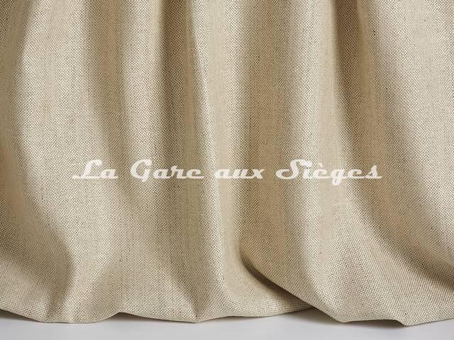 Tissu Pierre Frey - Soie Capucine - réf: F3272-001 Dune - Voir en grand