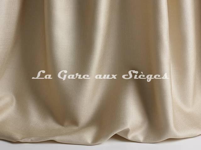 Tissu Pierre Frey - Soie Iris - réf: F3280-002 Coquillage - Voir en grand