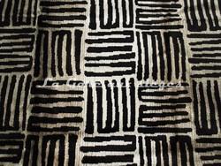 Tissu Deschemaker - Zanzibar - réf: 103940 - Ebène - Voir en grand