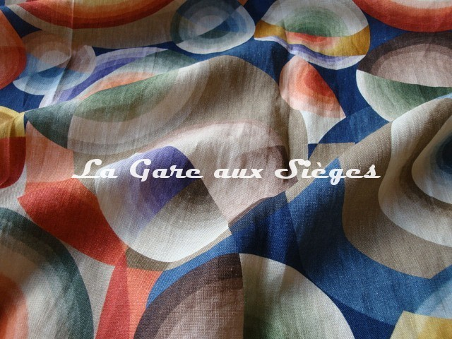 Tissu Pierre Frey - Mil neuf cent vingt - 1920 - réf: F2938-001 Multicolore - Voir en grand