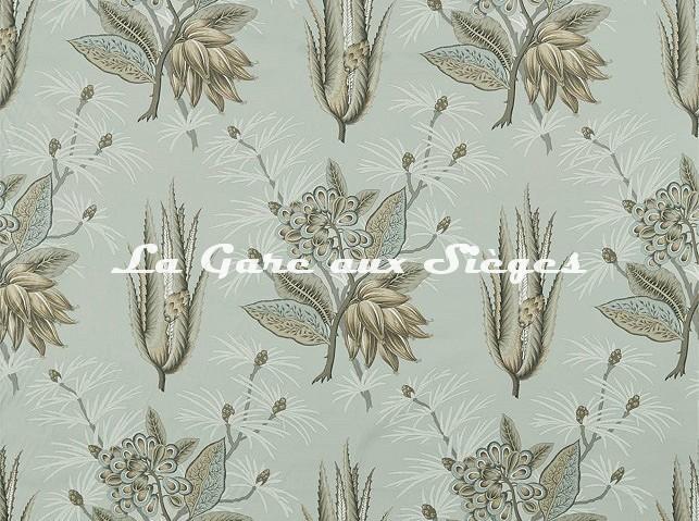 Tissu Zoffany - Desert Flower - réf: 322696 Stone - Voir en grand