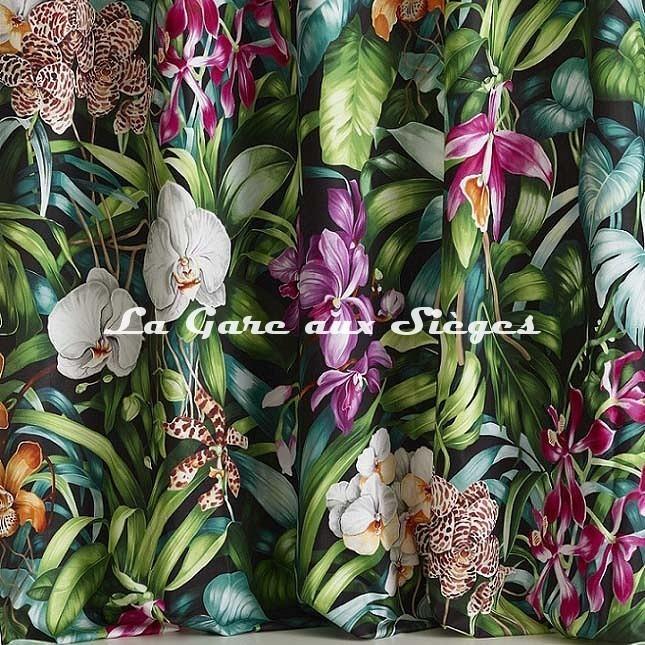 Tissu Pierre Frey - Jardin botanique - réf: F3389.002 - Voir en grand