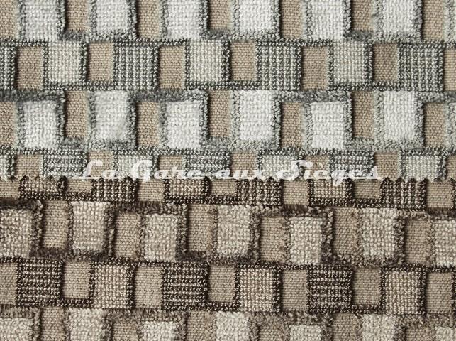 Tissu Casal - Sparte - réf: 12702 - Coloris: 72 Coton & 73 Beige - Voir en grand
