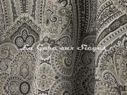 Tissu Lelièvre - Paisley - réf: 582.03 Steppe - Voir en grand