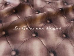 Tissu Deschemaker - Velours Capiton - 3108 Faon - Voir en grand