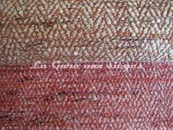 Tissu Pierre Frey - Avenue - réf: F2713 - Coloris: 006 Cuivre & 004 Carmin - Voir en grand
